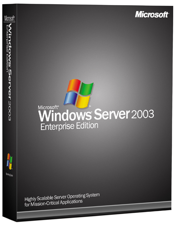Windows 2003 Enterprise R2 SP2 - Click Image to Close