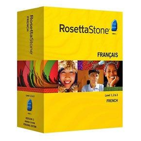 Rosetta Stone French Level 1, 2, 3, 4, 5 Set