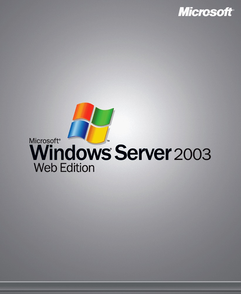 Windows Server 2003 Web Edition - Click Image to Close