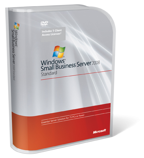 Microsoft Windows Small Business Server 2008 Standard - Click Image to Close