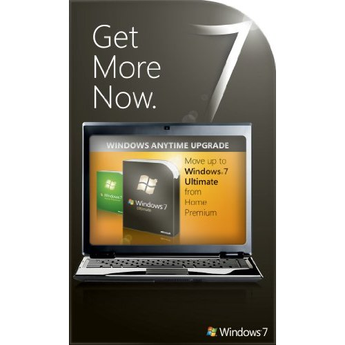 Windows 7 Home Premium to Ultimate Anytime Upgrade