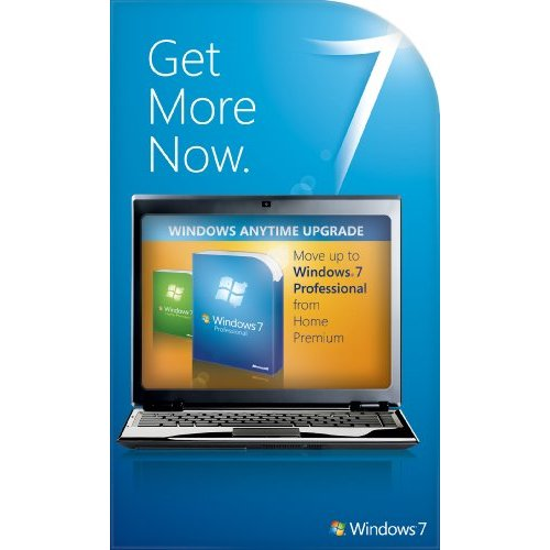 Windows 7 Home Premium to Professional Anytime Upgrade