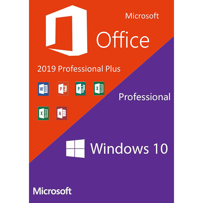 Windows 10 Pro + Office 2019 Pro Plus